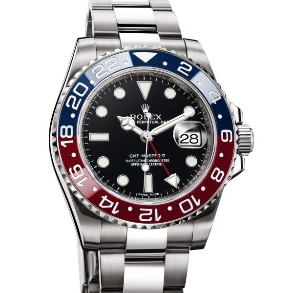 ca10fa070b0eb سعر ساعة جي ام تي ماستر 2 الأصلية بالذهب الأبيض GMT MASTER II (116719  BLRO). وهي أحد أكثر ساعات رولكس ...